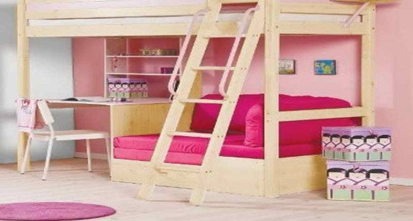 Plans Bunk Bed Desk Underneath Quick