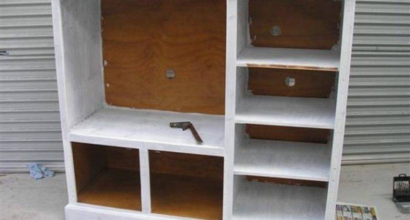 Ideas For Old Tv Cabinets
