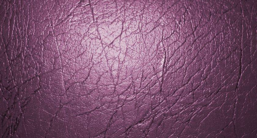 Plum Colored Leather Texture Photograph