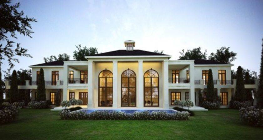 Polo Lodge French Style Architecture Modern South