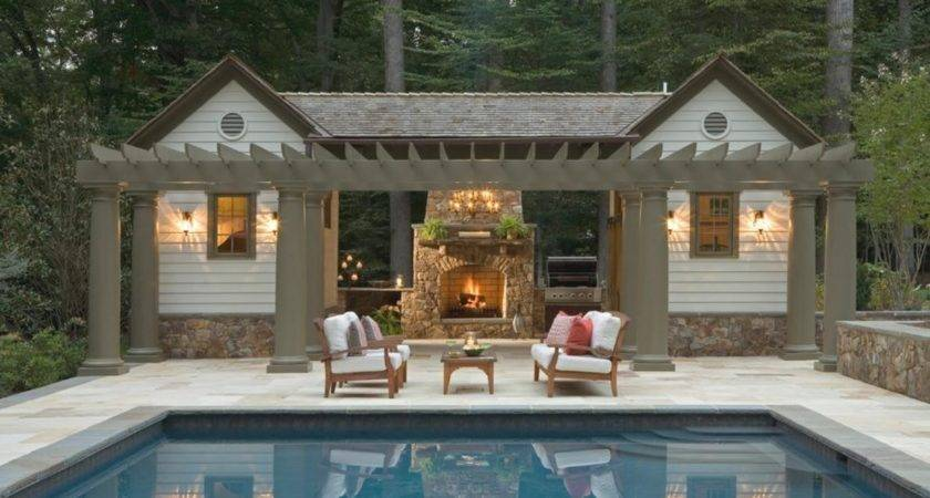 Pool House Plans Late Small Imecooco