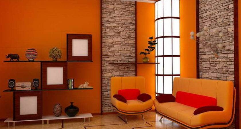Popular Interior Paint Colors Stone Wall
