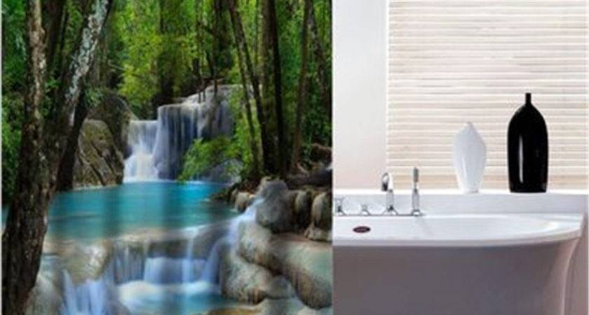 Popular Waterfall Shower Curtain Buy Cheap