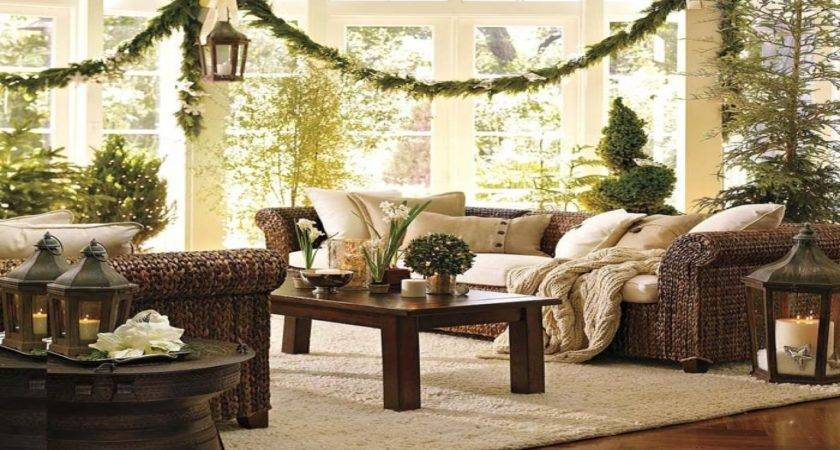 Pottery Barn Design Front Porch Christmas Decorating