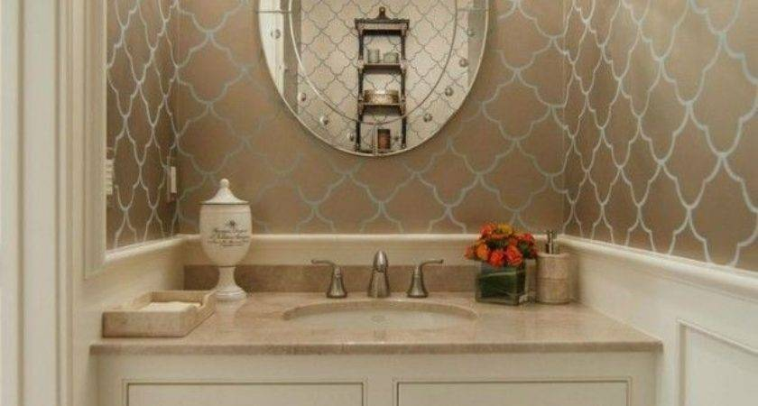 Powder Room Ideas Home Improvement Pinterest