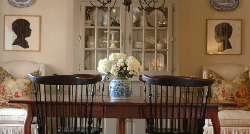 Pretty Dining Room Before After Holly Mathis Interiors