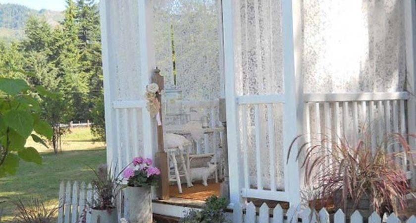 Pretty Shabby Chic Tiny House Inspire