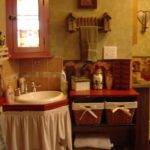 Primitive Bathroom Decor Decorating Style