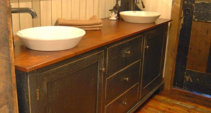 Primitive Bathroom Ideas Designs
