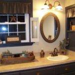 Primitive Bathroom Lighting Design Decoration