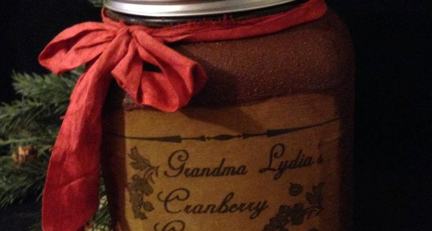 Primitive Christmas Pantry Jar Grubby Canister Cookie
