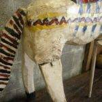 Primitive Painted Horse Stdibs