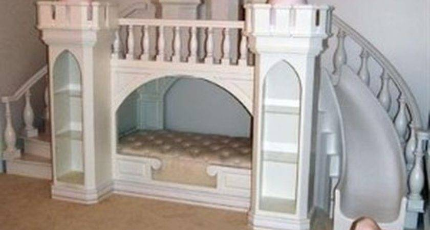 Princess Castle Bunk Bed Continental Pine Wood Beds