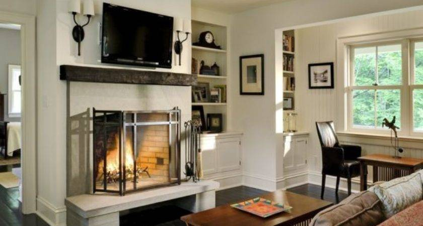 Pros Cons Having Over Fireplace