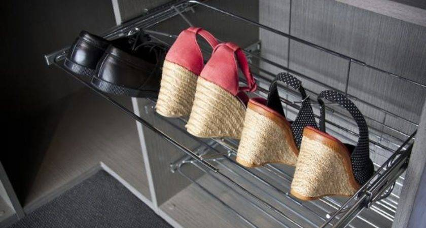 Pull Out Shoe Rack Simply Wardrobes