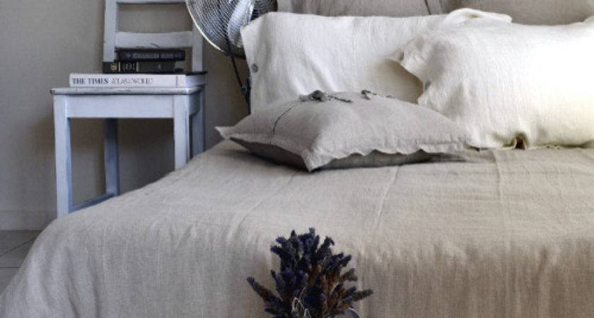 Pure Elegance Natural Softened Linen Bedding Traditional
