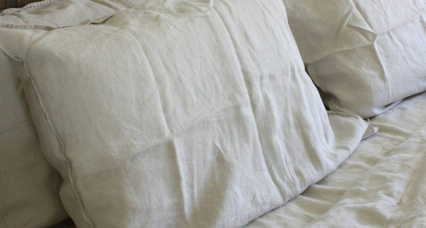 Pure Linen Bed Sheets Natural