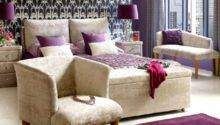 Purple Accents Bedrooms Stylish Ideas Digsdigs