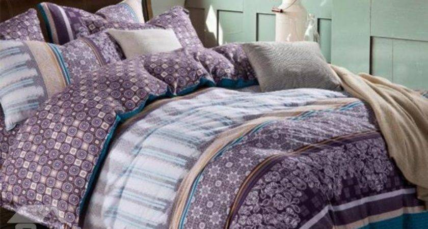 Purple Blue Bedding Sets Teal Pink