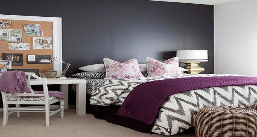 Purple Color Schemes Bedrooms Photos Video