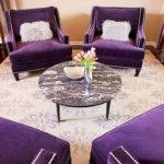 Purple Cream Living Room Peenmedia