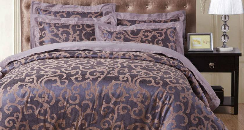 Purple Gold Comforter Sets Home Design Interior