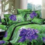 Purple Green Bedding Sets Myideasbedroom