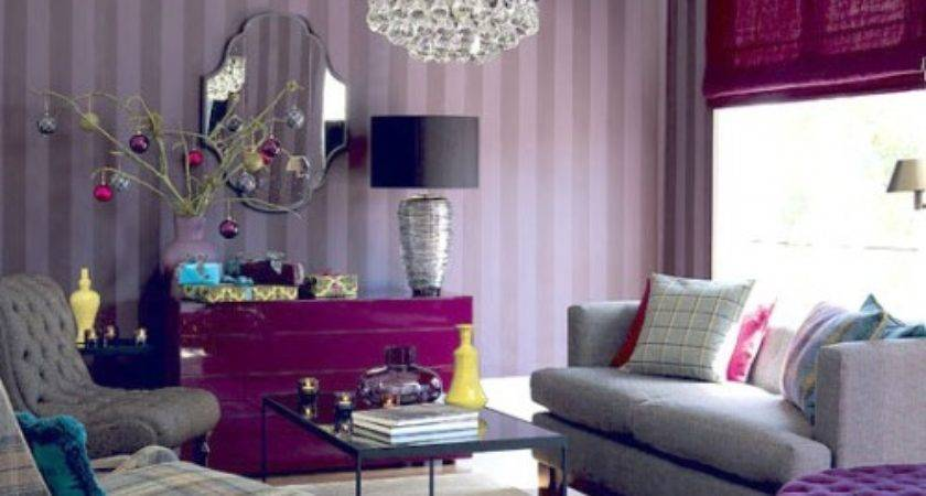 Purple Living Room Designs Decorating Tips Examples