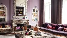 Purple Passion Wednesday Glamorous Living Room Decor