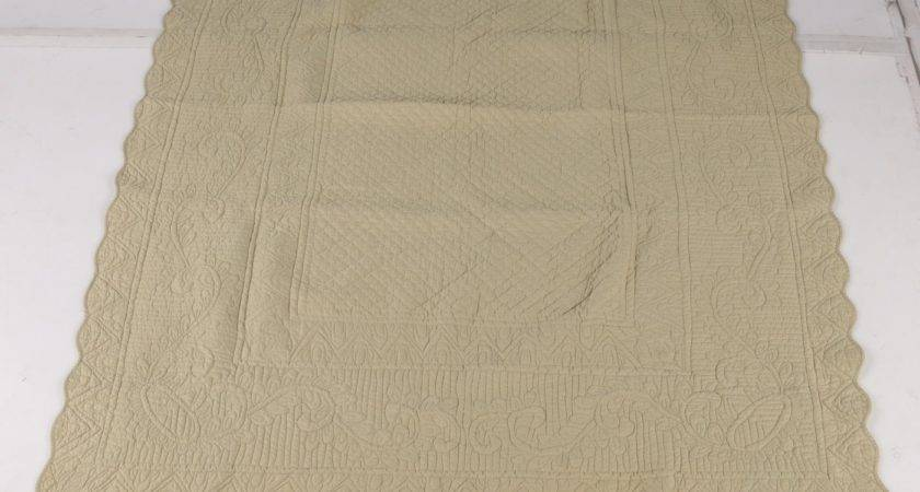 Quilted Bedspreads Linen Source Ebth