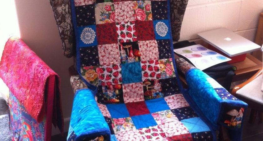 Quilters Cottage Norfolk Patchwork Chair Cover