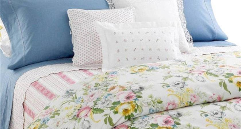 Ralph Lauren Home Lake Pastel Floral Piece Queen Duvet
