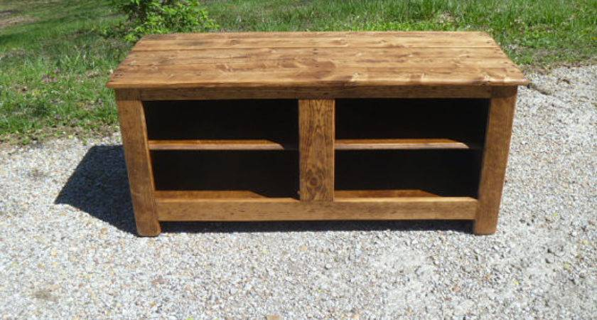 Ready Ship Rustic Bench Shoe Rack Recycled Pallet