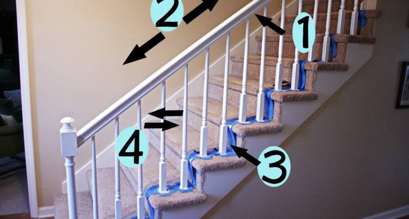 Really Want Paint Our Stairs White Thanks Bower Power