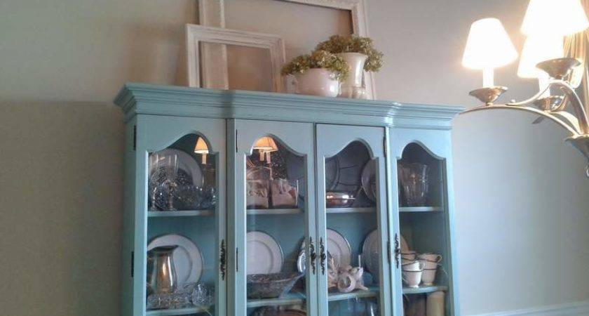 Rearranging Top China Cabinet Campclem