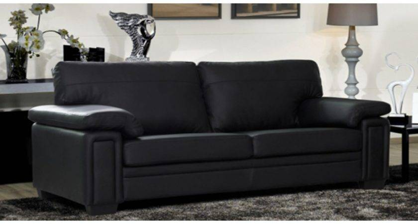 Reasons Choosing Black Leather Couch Set