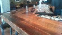 Reclaimed Oak Bar Top Wine Cellar Designworks