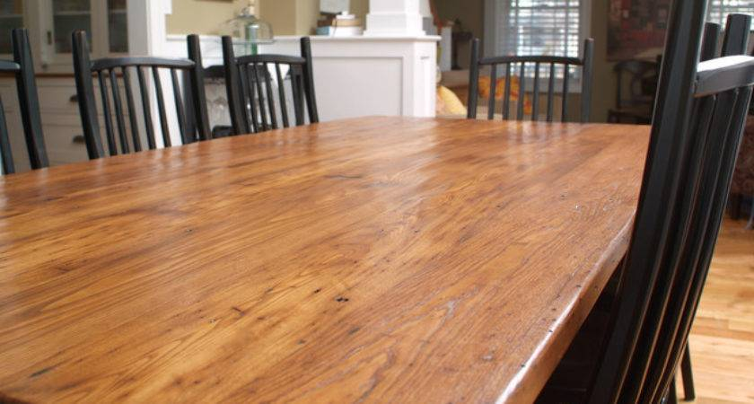 Reclaimed Wood Countertops Aaron