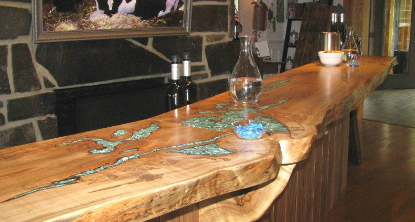 Reclaimed Wood Rustic Countertop Ideas Decoholic