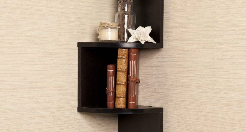 Recommended Wall Mounted Corner Bookshelves