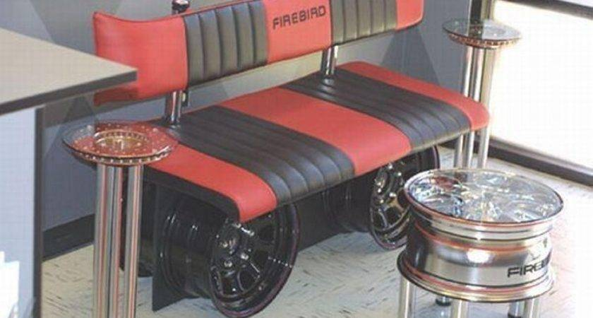 Recycled Car Parts Innovative Furniture Things