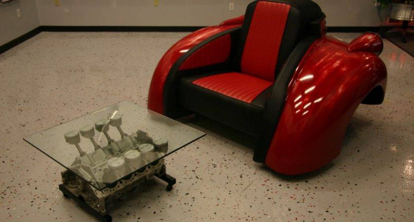 Recycling Car Parts Create Furniture Street Racing