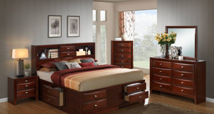 Red Barrel Studio Plumcreek Storage Panel Piece Bedroom