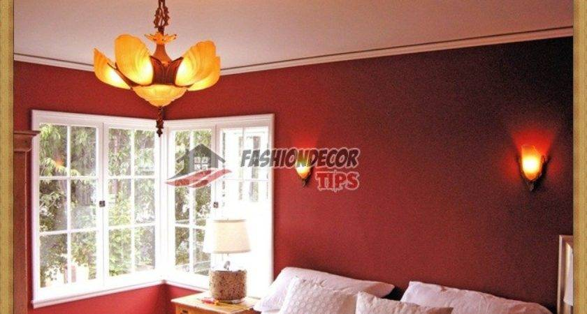 Red Bedroom Wall Colors Decorating Ideas