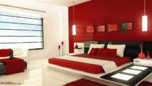 Red Black Bedroom Design Home Decor Interior