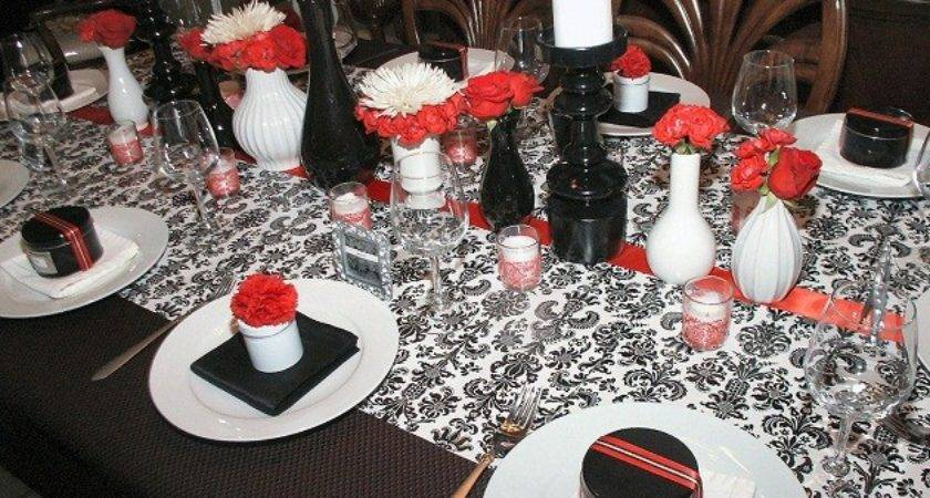 Red Black Party Decoration Ideas Quotes