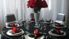 Red Black Table Decorations Nisartmacka