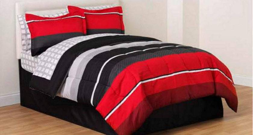 Red Black White Comforter Sets Choozone