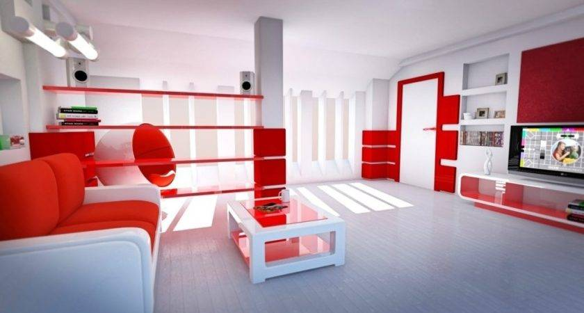 Red Black White Living Room Decorating Ideas Decor