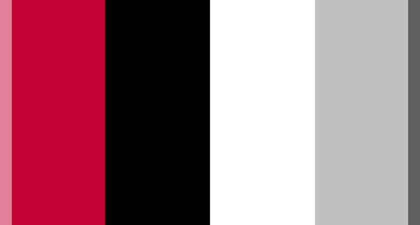 Red Black White Silver Svg Wikimedia Commons